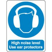 Mandatory Safety Sign - High Noise Level 079